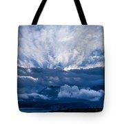 Sunrise On Lake Annecy Tote Bag