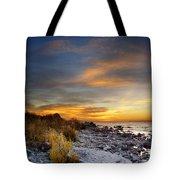 Sunrise On Mackinac Island Tote Bag