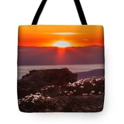 Sunrise On Mount Clay 2 Tote Bag