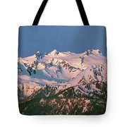 1m4120-sunrise On Mt. Olympus  Tote Bag
