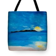 Sunrise On My Emotions Tote Bag
