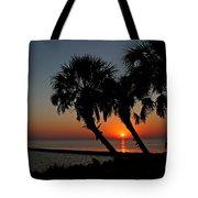 Sunrise On Pleasure Island Tote Bag