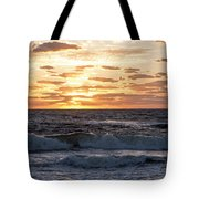 Sunrise On Pompano Beach Pompano Florida Tote Bag