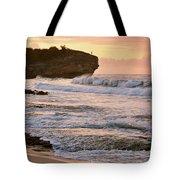 Sunrise On Shipwreck Beach Tote Bag