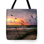 Sunrise On The Beach 02 Tote Bag