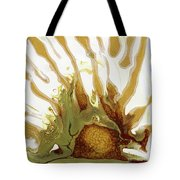 Sunrise On The Desert Playa Tote Bag