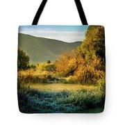 Sunrise On The Duck Marsh Tote Bag