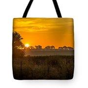 Sunrise On The Farm Tote Bag