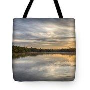 Sunrise On The Flats Tote Bag