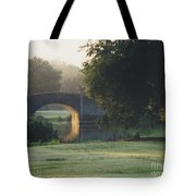 Sunrise On The Golf Course Tote Bag