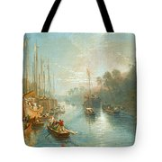 Sunrise On The Grand Canal Tote Bag