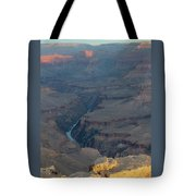 Sunrise On The Grand Canyon Tote Bag