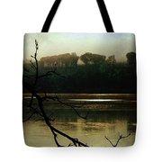 Sunrise On The Hudson River, No. 14 Tote Bag
