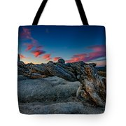 Sunrise On The Jeffrey Pine Tote Bag
