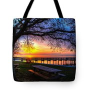 Sunrise On The Neuse Tote Bag