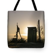 Sunrise On The Past Tote Bag