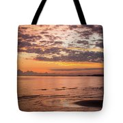 Sunrise On The Shore  Tote Bag
