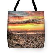 Sunrise Outer Banks Of North Carolina Seascape Tote Bag