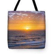 Sunrise Over Atlantic Ocean Tote Bag