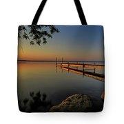 Sunrise Over Cayuga Lake Tote Bag by Everet Regal