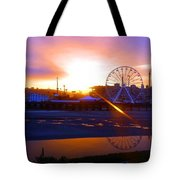 Sunrise Over Del Mar Fair Tote Bag