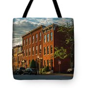 Sunrise Over Federal Hill Tote Bag