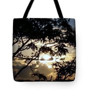 Sunrise Over Fort Salonga6 Tote Bag
