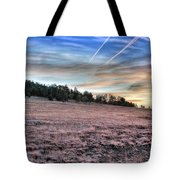 Sunrise Over Ft. Apache Tote Bag
