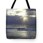 Sunrise Over Gulf Of Mexico Tote Bag