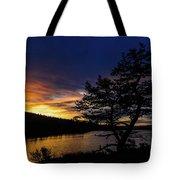 Sunrise Over Hauser Tote Bag