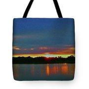 Sunrise Over Ile-bizard - Quebec Tote Bag