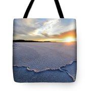 Sunrise Over Lake Gairdner, Tote Bag