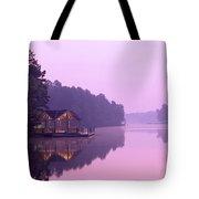Sunrise Over Lake Jeanette. Tote Bag