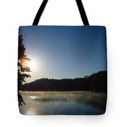 Sunrise Over Lake Lainer Tote Bag