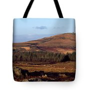 Sunrise Over Mont Saint-michel At Monts Tote Bag