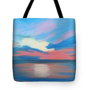 Sunrise Over Ocean City Maryland Tote Bag