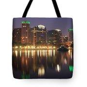 Sunrise Over Orlando Tote Bag