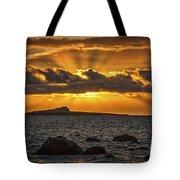 Sunrise Over Rabbit Head Island Tote Bag
