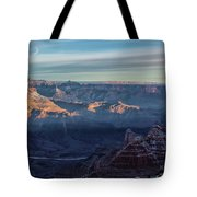 Sunrise Over The Grand Canyon Tote Bag