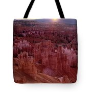Sunrise Over The Hoodoos Bryce Canyon National Park Tote Bag by Dave Welling