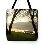 Sunrise Over The Maumee Tote Bag