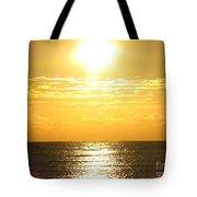 Sunrise Over The Ocean8833 Tote Bag