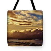 Sunrise Over The Spit Tote Bag