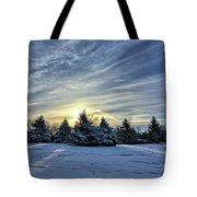 Sunrise Pines Tote Bag