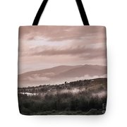 Sunrise Pink Over Tlacolula Valley Tote Bag