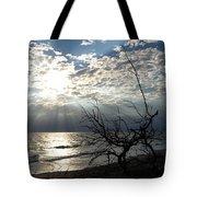 Sunrise Prayer On The Beach Tote Bag