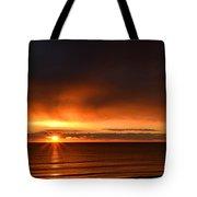 Sunrise Rays Tote Bag