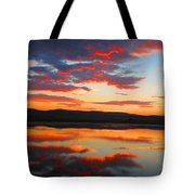 Sunrise Refection Tote Bag
