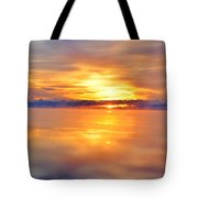 Sunrise Reflections Tote Bag