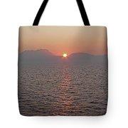 Sunrise Rota Spain Tote Bag